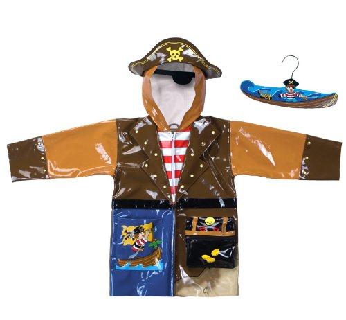 Kidorable Rain Coat - Pirate 3T by Kidorable