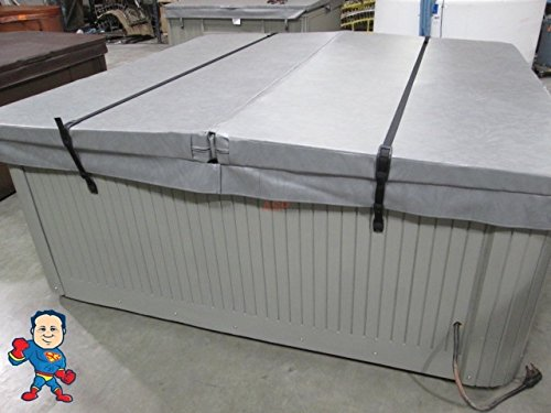 2 Hot Tub Cover Wind Strap Kit Secure Catalina Cal Spa Hurricane