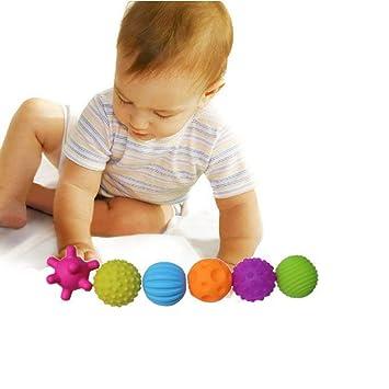 Ogquaton Bolas sensoriales para bebés de Primera Calidad Set de ...