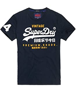afbe0cc7b5b52 Superdry Men's Vintage Logo Layered Camo T-Shirt | Amazon.com
