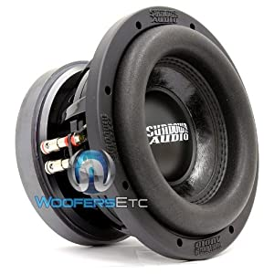 "SD-2 8 D2 - Sundown Audio 8"" 300W RMS Dual 2-Ohms Subwoofer"