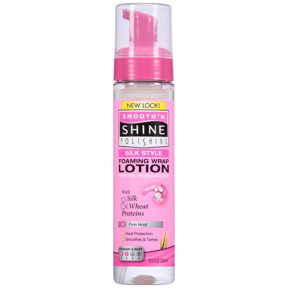 Smooth 'N Shine Polishing Silk Style Wrap Lotion, Foaming, 8.5 Ounce by Smooth N Shine Schwarzkopf & Henkel KR-052336631793