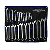 25PC Metric Combination Wrench Spanner Set 6-32MM Ring/Open Ended Combo