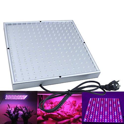 VINGO® 15W LED Pflanzenleuchte 500 Lumen Pflanzenlicht 225 LEDs Pflanzen Lampe Wachstumslampe Grow Wuchs