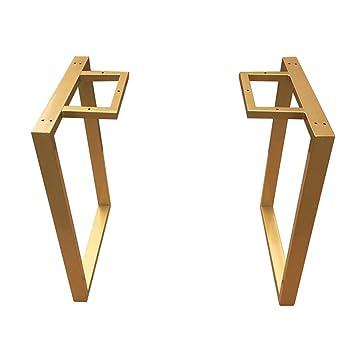 Amazon.com: Patas de apoyo, patas de mesa doradas, patas de ...