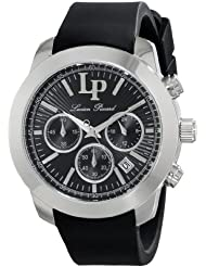Lucien Piccard Womens LP-12938-01 Belle Etoile Analog Display Japanese Quartz Black Watch