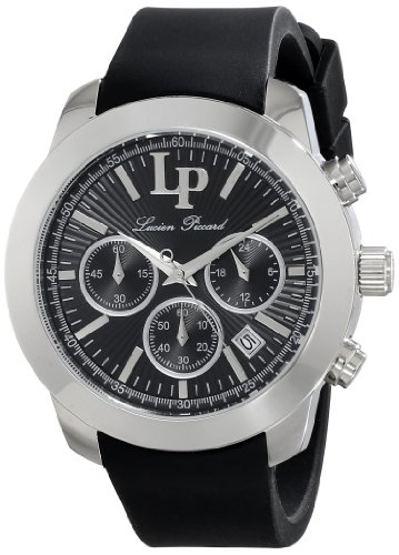 Lucien Piccard Women's LP-12938-01 Belle Etoile Analog Display Japanese Quartz Black Watch