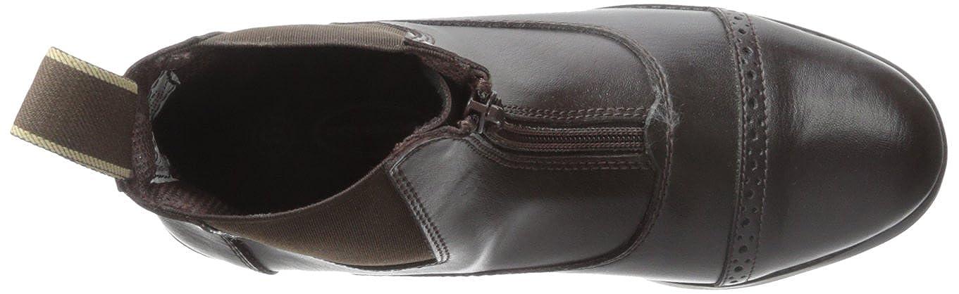 All Weather Equistar 6 Brown Ladies Zip Paddock Boot