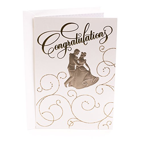 (Hallmark Wedding Greeting Card (Cinderella Congratulations))