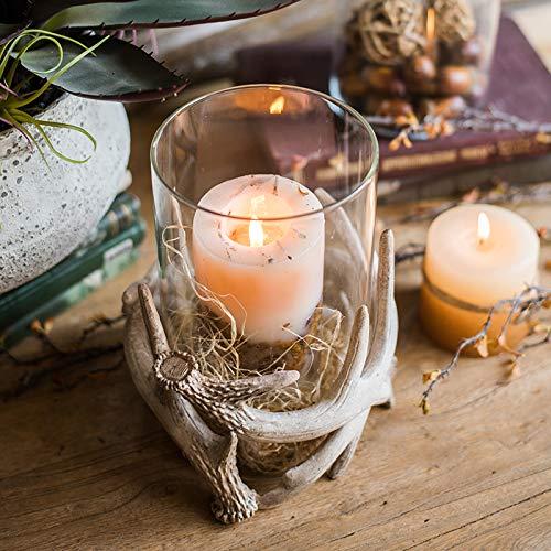 Unique Antlers Design Candle Holder Votive Candle Lantern Decoration(No Candle) by RockTrend (Image #3)