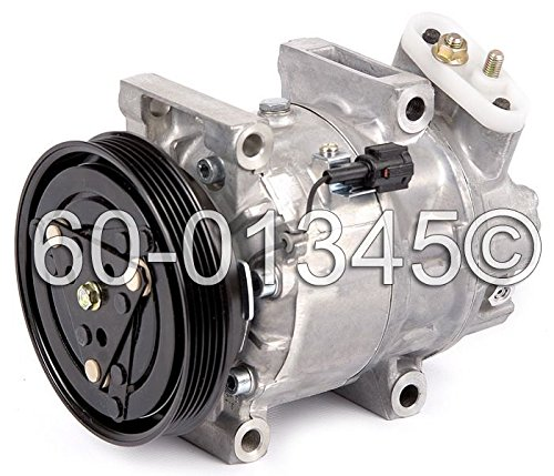 New AC Compressor & Clutch With Complete A/C Repair Kit For Nissan Pathfinder - BuyAutoParts 60-81213RK New
