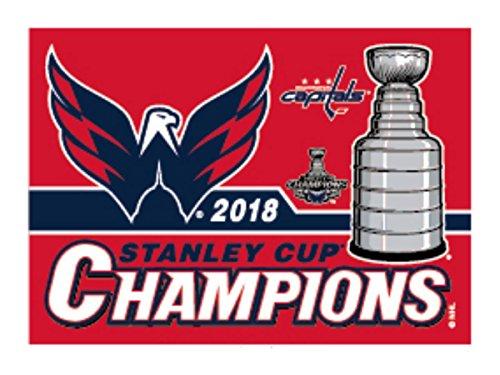 WinCraft Washington Capitals 2018 Stanley Cup Champions Fridge Magnet (Best Refrigerator 2018)