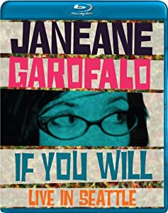 Cover Image for 'Janeane Garofalo: If You Will - Live in Seattle'