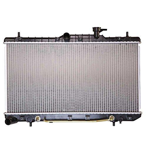 Prime Choice Auto Parts RK882 New Complete Aluminum Radiator 2002 Hyundai Accent Radiator