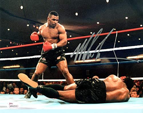Mike Tyson Autographed 8x10 Photo JSA Stock #123806