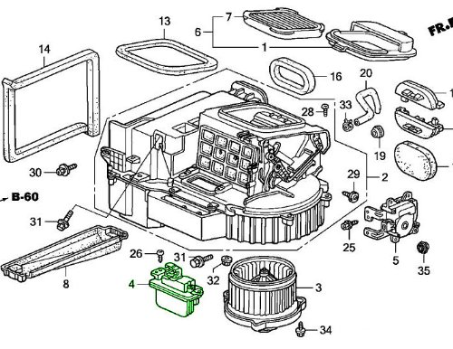 Genuine Honda 79330-S2A-003 Transistor Assembly