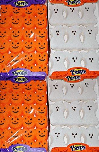 Halloween Peeps Marshmallow Candy Bulk Variety 4 Pack
