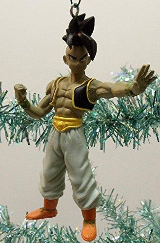 Dragon Ball Z Holiday Christmas Tree Ornament Set Featuring Trunks, Uub, Super Saiyan SS4 Vegeta ...