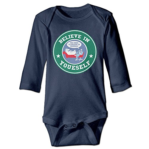 Bro-Custom STAR Believe In Yourself Buck For 6-24 Months Newborn Romper Playsuit 18 Months Navy (Mini Keurig In Pink compare prices)