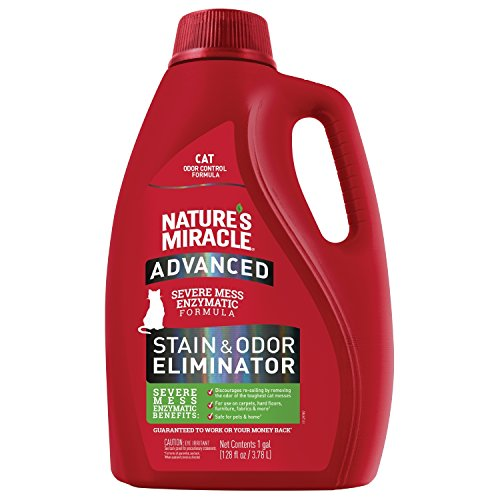 Nature's Miracle P-98144 Advanced Cat Stain and Odor Remover
