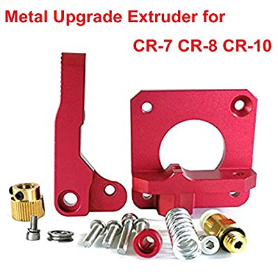 Upgrade 3D Printer Parts MK8 Extruder Aluminum Alloy Block Bowden Extruder 1.75mm Filament for Creality 3D CR-7 ,CR-8, CR-10, CR-10S, CR-10 S4, and CR-10 S5
