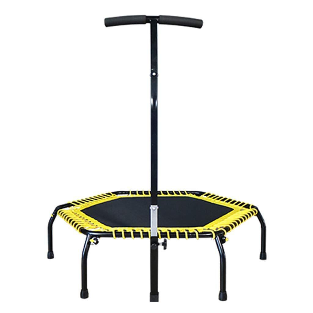 Mini 44 ' ' Fitness, Silent Mini mit Adjustable Handrail, Indoor für Erwachsene und Kinder, Perfect Urban Cardio Workout Home Trainer, Bungee Rope System, Max Load 400 lb