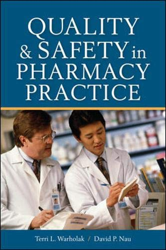Quality and Safety in Pharmacy Practice