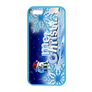 Fashion Christmas snowman Pattern Hard Back Custom Colorful Case for iPhone 5,5s?