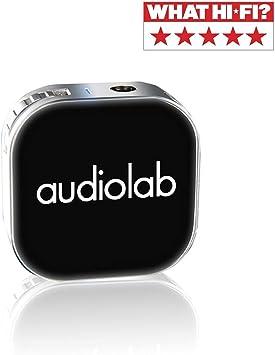 Audiolab Ampli Casque Portable Bluetooth amplificateur de Casque Audio HiFi 32 bit//384K pour iPhone Android