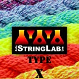 String Lab YoYo Type X - Medium Thick Yo-Yo Strings - 10 Pack (Enso (Black/White))