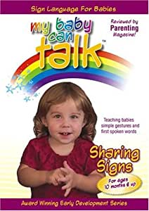Amazon.com: My Baby Can Talk - Sharing Signs: Baby Hands