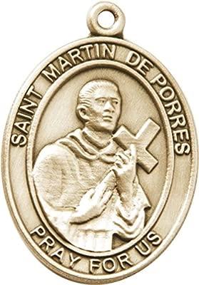Oro de óxido de San Martin de Porres llavero con cartón caja ...