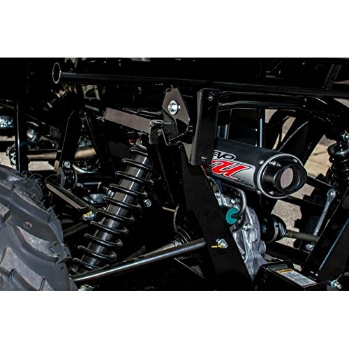 Big Gun EVO Sport Utility Slip-On, Color: Black, Material: Aluminum 12-1672 by Big Gun Exhaust Systems (Image #1)