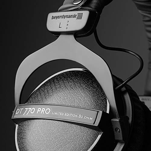 517SAPlTDTL - beyerdynamic DT 770 Pro 80 Limited Edition Headphones, Black