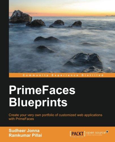 PrimeFaces Blueprints Front Cover