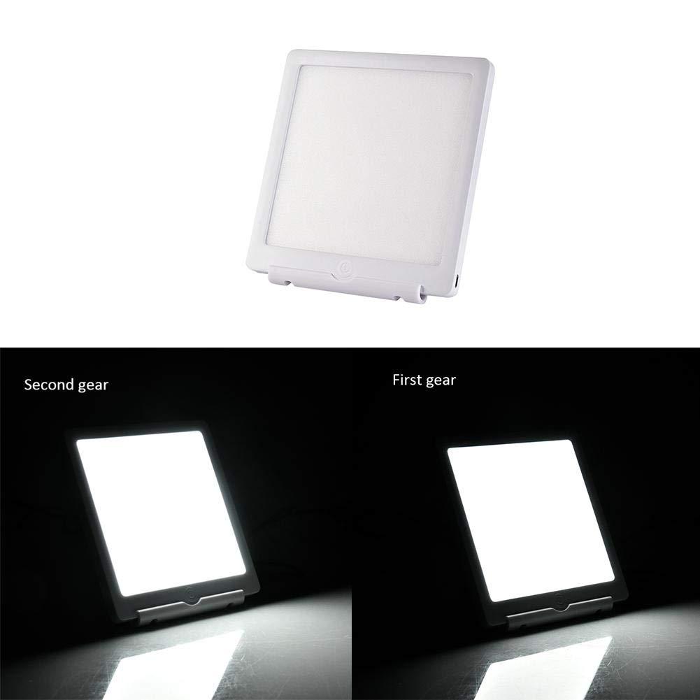Hifuture Lampada Luce Diurna 5 V Lampada terapeutica bionica Luce Solare Ricarica USB resistere alla depressione. utilizzato per Migliorare lumore 2 File luminosit/à 6000 lm // 10000 lm