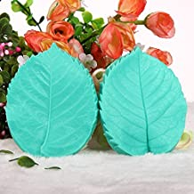 Teanfa Fondant Tools Flower Blossom Silicone Veiners Molds Sugar Molds for Cu...