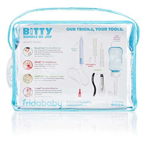 Fridababy Bitty Bundle of Joy Mom & Baby Healthcare and Grooming Gift Kit by FridaBaby (Image #1)