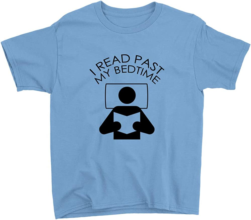Subblime I Read Past My Bedtime Youth T-Shirt