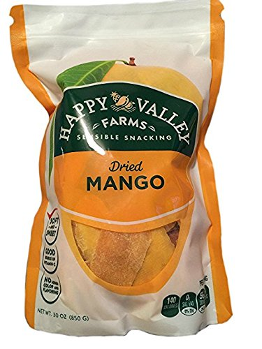Happy Valley Farm Dried Mango 30oz (pack of 6) by Happy Valley