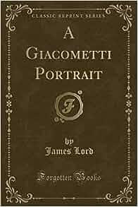 A Giacometti Portrait