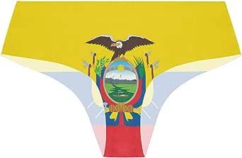FANTAZIO Flag of Ecuador Bragas Comfort Ultra Soft - Ropa ...
