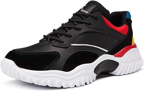 MXQH Zapatillas de Running Ligeras de Hombre Slip on Zapatillas ...