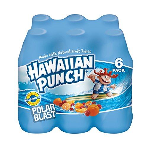 Hawaiian Punch Polar Blast, 10 fl oz bottles, 6 count (Pack of 4)