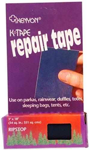 KENYON Ripstop Pressure Sensitive Repair Tape, Navy