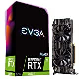 EVGA GeForce RTX 2080 Ti Black Edition Gaming, 11GB GDDR6, Dual HDB Fans & RGB LED Graphics Card 11G-P4-2281-KR
