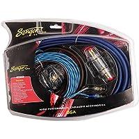 MWGEARS 6 Gauge (6-AWG) 800W Car Amplifier Install Kit W/ 60AMP AGU Fuse