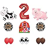 Amazon Com 10 Cow Print Balloons Toys Amp Games