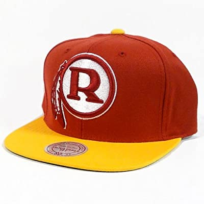 Mitchell & Ness Washington Redskins XL 2 Tone Logo Snapback Hat