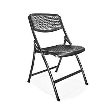 Home Decoration-G.TZ Silla De Oficina Plegable Negro Fuerte ...